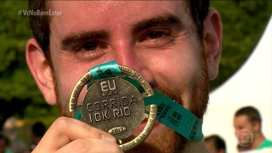 Corrida Eu Atleta Rio tem festa de 5 anos, estreantes, casais, amigos e superação