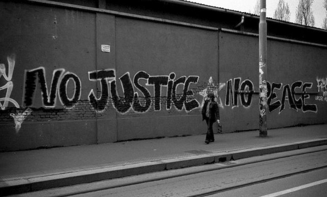 No justice, no peace (Foto: M.S. Volonte )