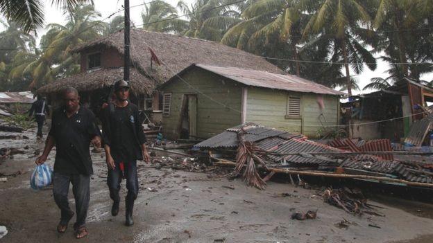 A cada ano, os nomes dos furacões mais devastadores são 'aposentados' da lista (Foto: Reuters via BBC)