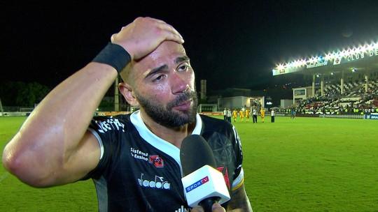Castan diz que faltou malandragem para jogadores do Vasco