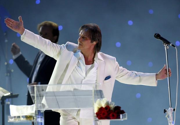 Roberto Carlos comemorará seu aniversário no Allianz Parque (Foto: Getty Images)