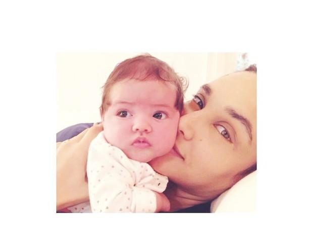 foto da filha de Débora Nascimento (Foto: Reprodução Instagram)