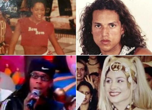 Adriana Bombom, Fly, Daddy Kall e Giselle Prattes (Foto: Divulgação)