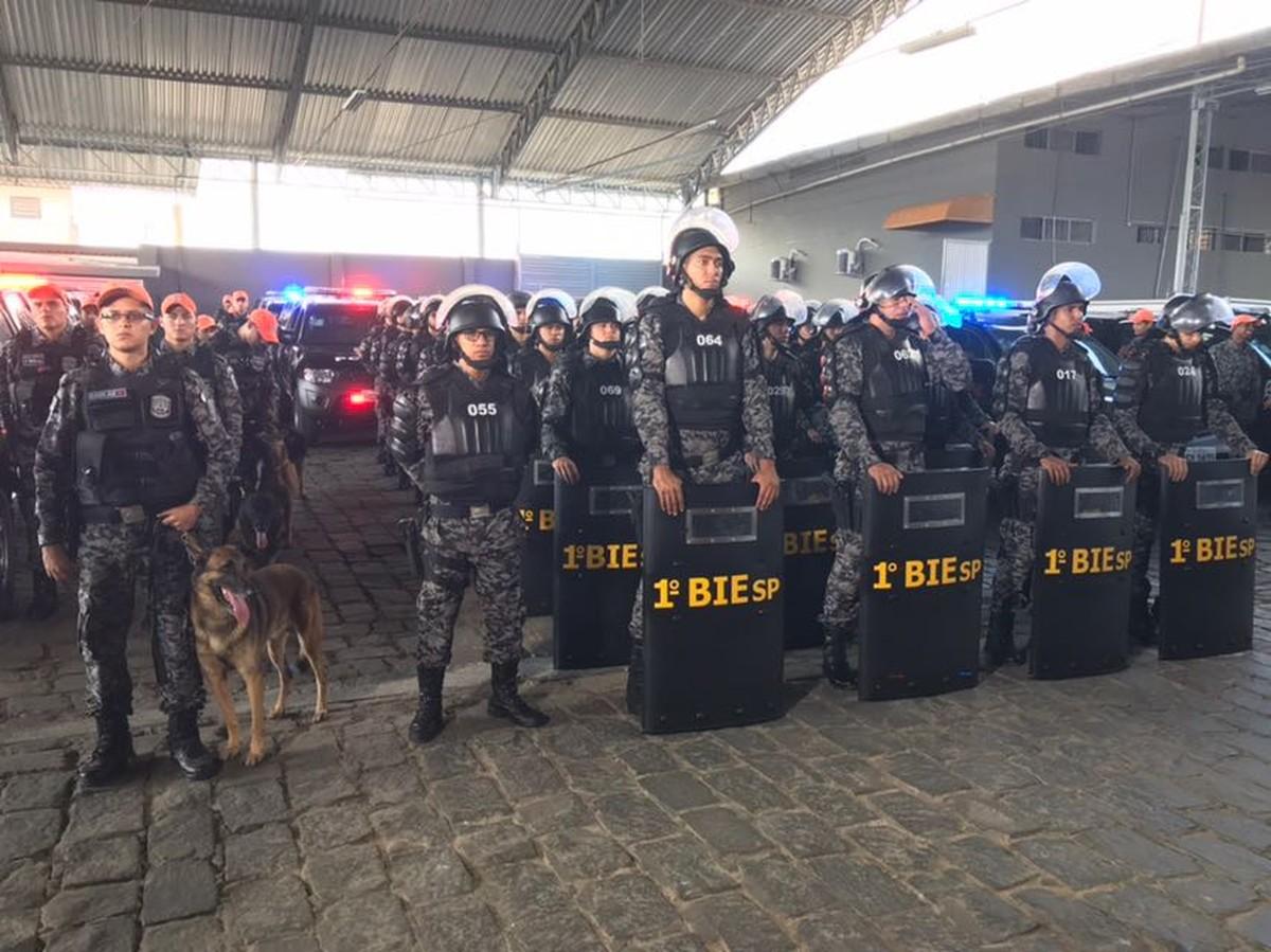 Batalhão Especializado da PM é inaugurado nesta terça-feira (14) em Caruaru