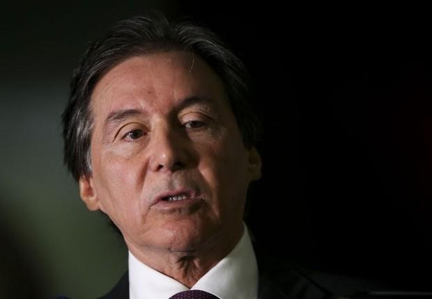 O presidente do Senado, Eunicio Oliveira (PMDB-CE) (Foto: Marcelo Camargo/Agência Brasil)