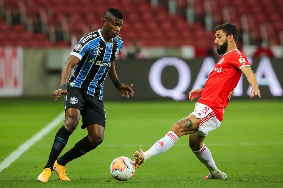 Orejuela tem 31 jogos pelo Grêmio e um gol marcado — Foto: Staff Images/Conmebol