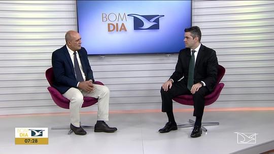Adriano Sarney fala sobre a situação da saúde no Maranhão no Bom Dia Mirante