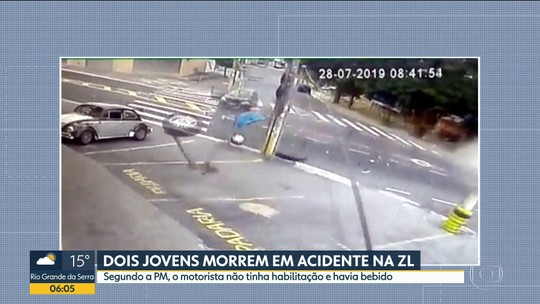 Motoristas embriagados causam acidentes com mortes