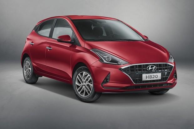 Novo Hyundai HB20  (Foto: Divulgação)