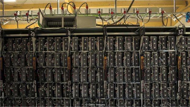 Fábricas de criptomoedas ganharam popularidade na Islândia (Foto: Getty Images via BBC News Brasil)