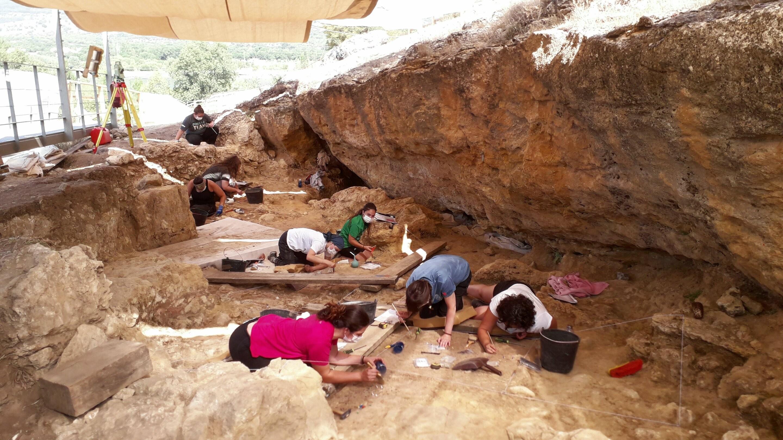 Se descubre un campamento de caza de neandertales en la Península Ibérica (Foto: Abel Moclán)