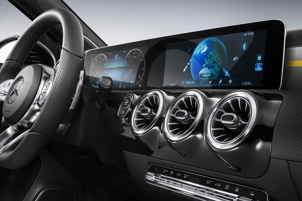 MBUX - Central de entretenimento Mercedes Benz (Foto: divulgação)