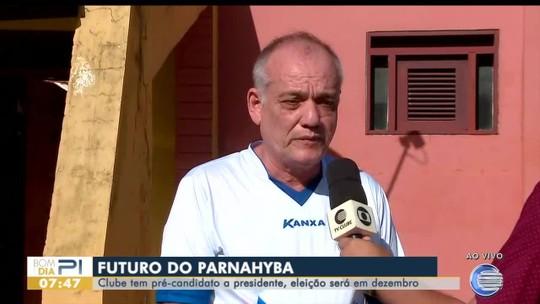 Casé Neves confirma que será candidato a presidente nas eleições do Parnahyba; assista
