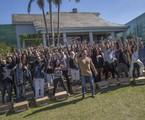 Marcon Mion e os participantes de 'A casa' | Antonio Chahestian/Record TV