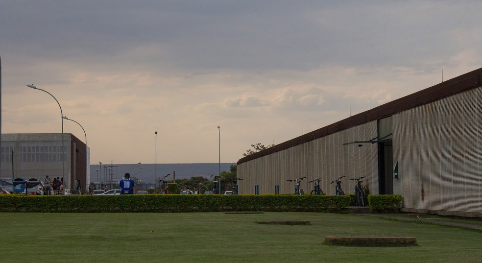 Pavilhão João Calmon na UnB — Foto: Beatriz Ferraz/Secom UnB/Divulgação
