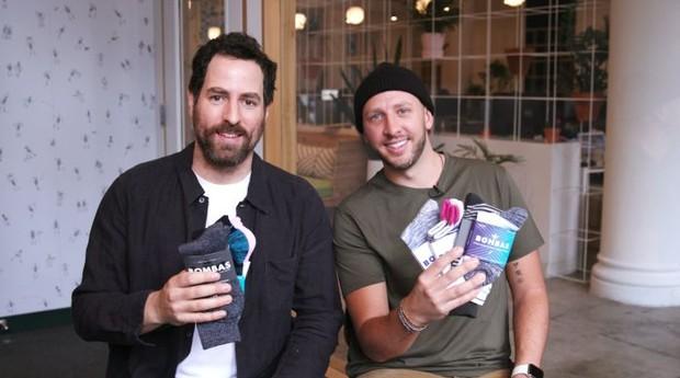 Randy Goldberg (esquerda) e David Heath, fundadores da Bombas (Foto: Divulgação)