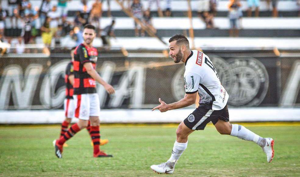 Thauan marcou cinco gols na Série D — Foto: Pedro Henrique/ASA