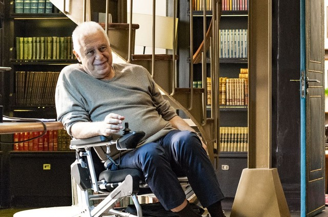 Antonio Fagundes é Alberto em 'Bom sucesso' (Foto: Globo/Ellen Soares)