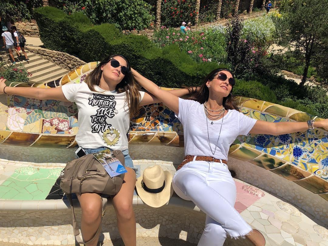 Fátima Bernardes curte férias em Barcelona (Foto: Reprodução / Instagram)