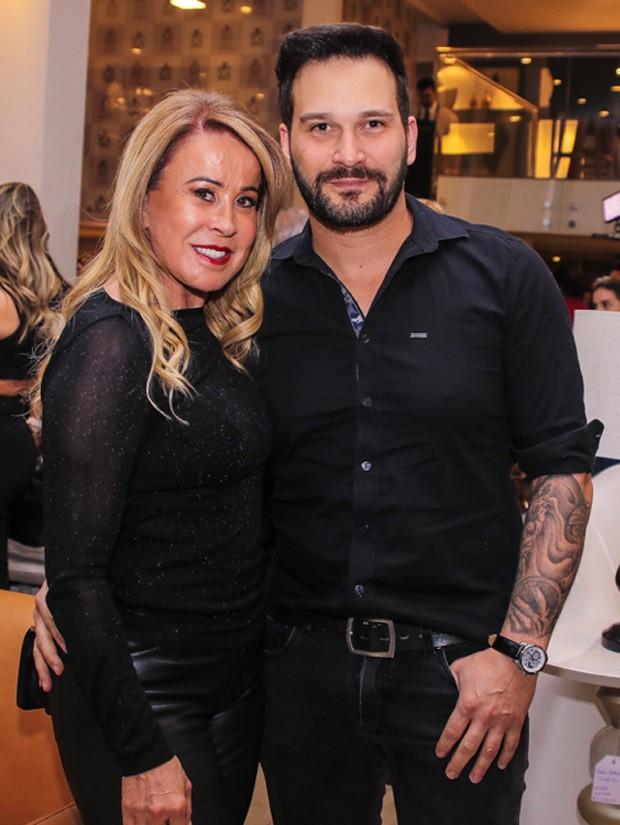 Zilu Godói e Marco Ruggiero (Foto: Thiago Duran/AgNews)