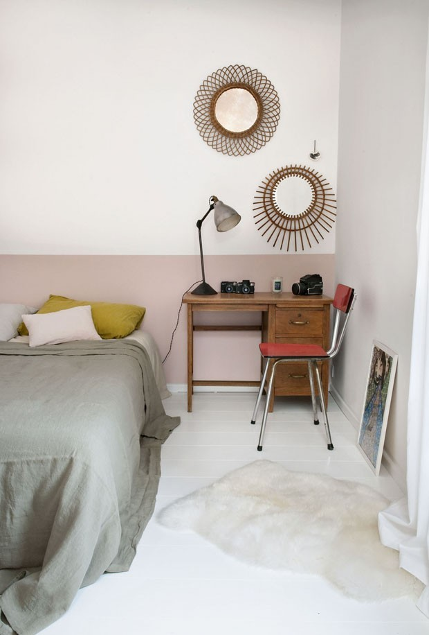 Tendência de cores: rosa traz aconchego para o quarto (Foto: Divulgação)