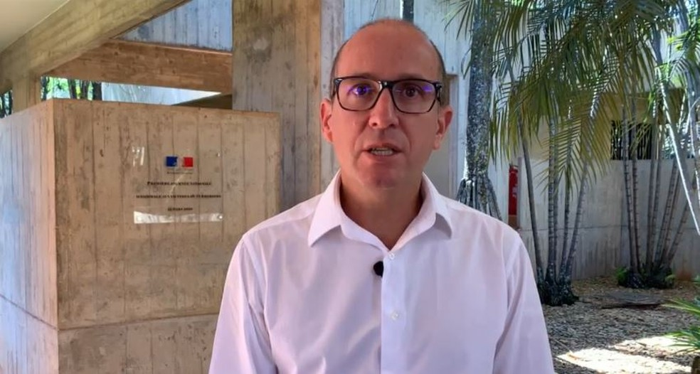 Gilles Pecassou, ministro-conselheiro da Embaixada da França no Brasil — Foto: Rede Amazônica/Reprodução