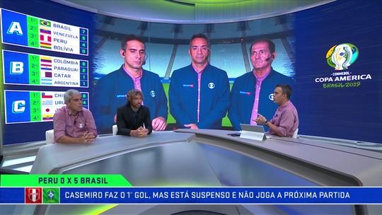 """Troca de Passes debate suspensão de Casemiro, e Ricardinho critica: """"Não tinha necessidade"""""""