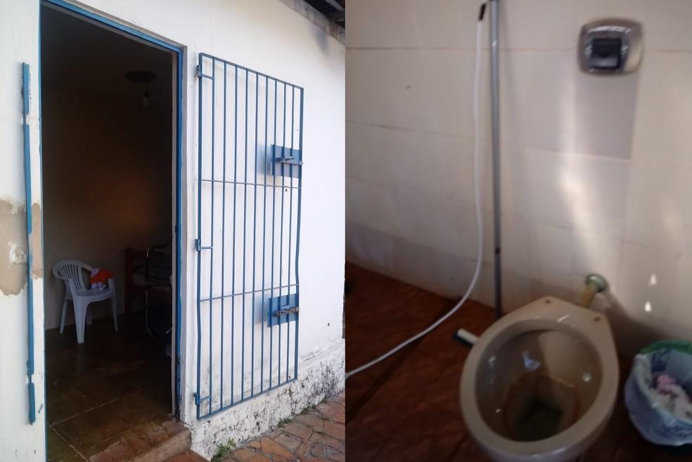 Chácara que funcionava como casa de repouso foi encontrada em situação precária em São Manuel — Foto: Prefeitura de São Manuel/Divulgação