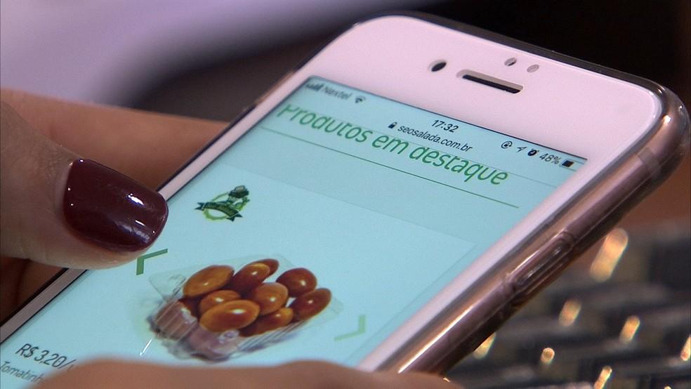 Produtores focam nas vendas online para aumentar lucros (Foto: Reprodução/TV TEM)