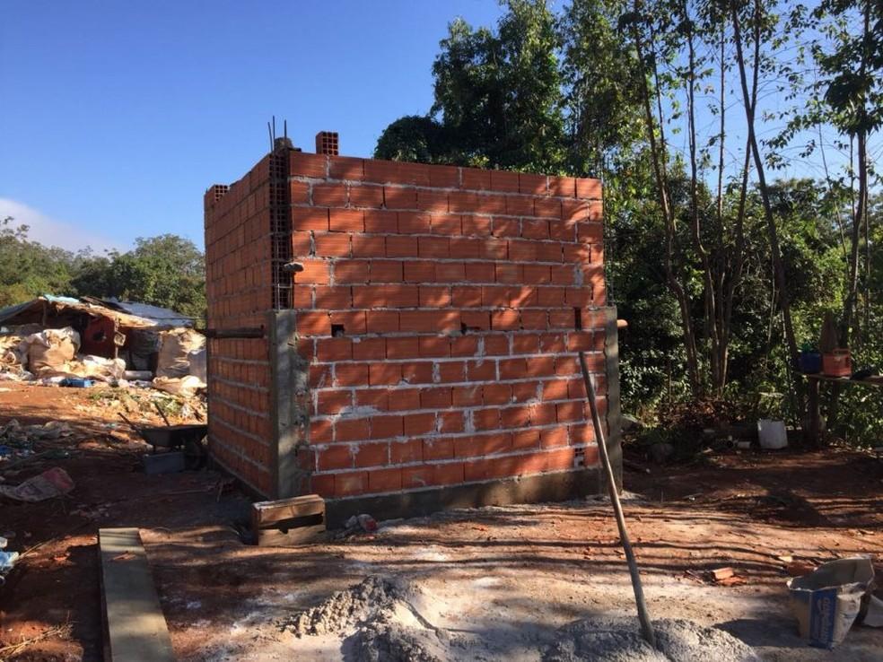 Usina deve ser entregue até outubro  (Foto: Prefeitura de Córrego Fundo/Divulgação)