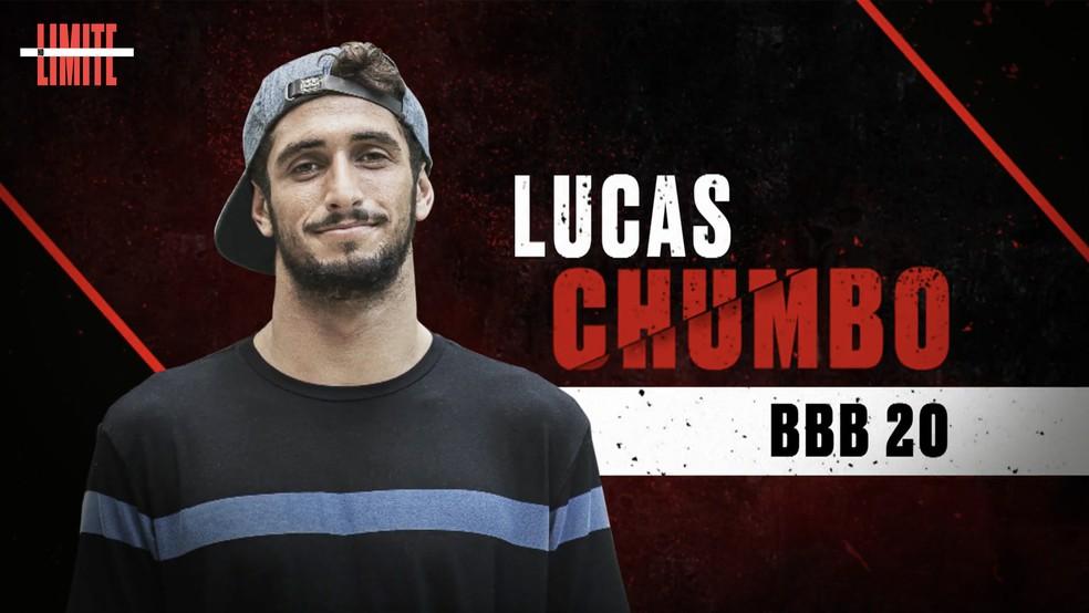 Lucas Chumbo é um dos participantes do 'No Limite' ? Foto: Globo
