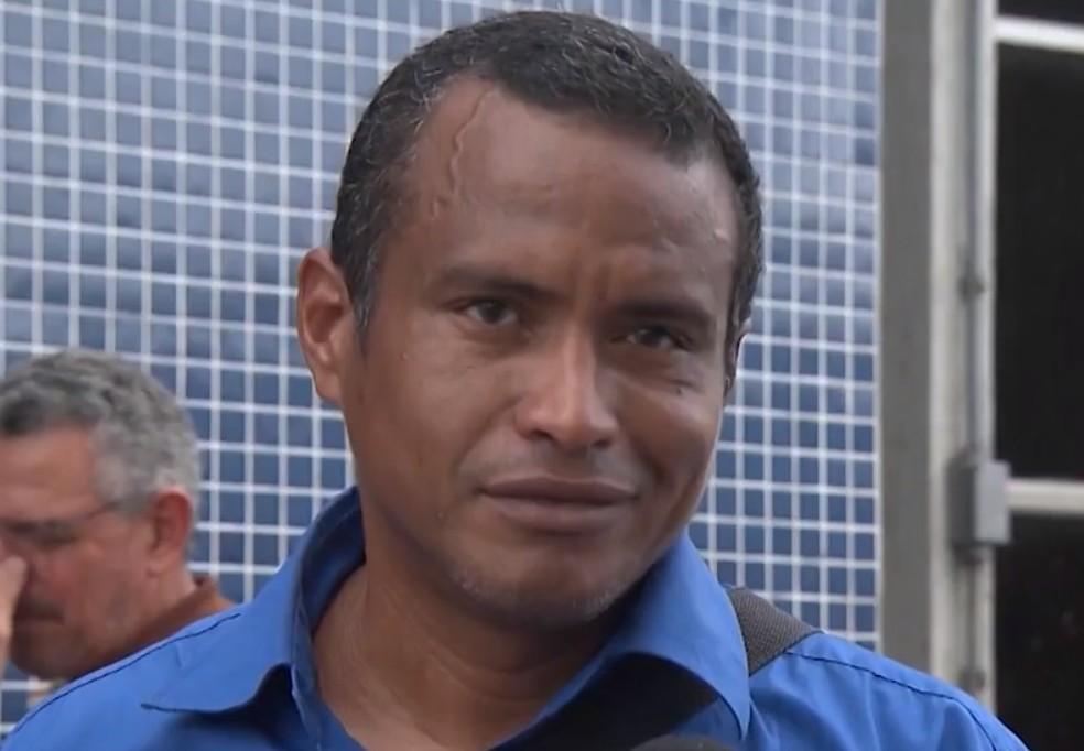 Joe Ramos, um dos venezuelanos resgatados, diz ser grato ao Brasil: 'Vocês são muito especiais'. — Foto: Reprodução / TV Bahia