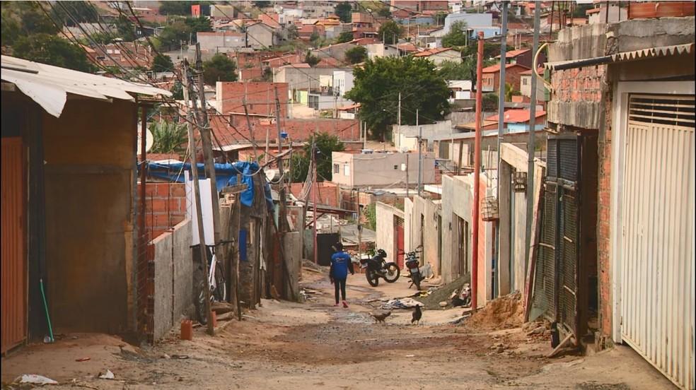 Mapeamento da Cufa de Campinas (SP) aponta que cerca de 70% das pessoas que vivem nas comunidades da cidade sofrem com crise da Covid-19. — Foto: Reprodução / EPTV