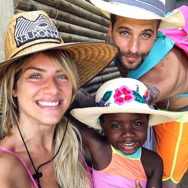 Giovanna Ewbank, Titi e Bruno Gagliasso (Foto: Instagram/Reprodução)