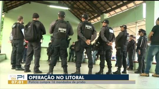 Procurado pela Polícia no Piauí e Maranhão é preso em operação no litoral do Piauí