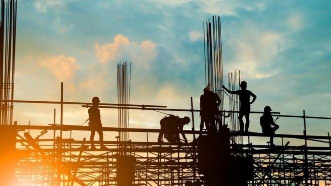Setores como o de construção civil ainda não reagiram (Foto: GETTY IMAGES/BBC)