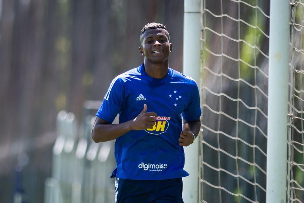 Orejuela conseguiu se manter na Série A mesmo após rebaixamento — Foto: Bruno Haddad/Cruzeiro