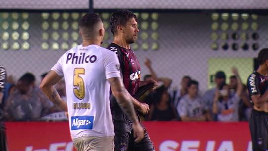 Melhores momentos: Santos 1 x 0 Atlético-PR pela 27ª rodada do Brasileirão