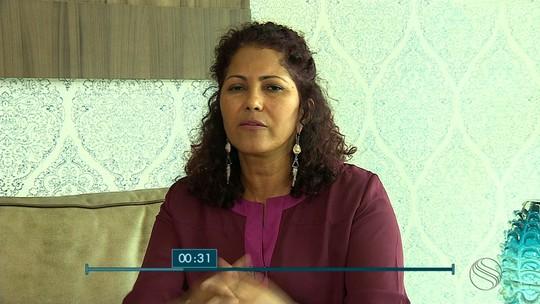 Gilvani Santos, candidata ao governo de SE, é entrevistada no SETV1ª Edição