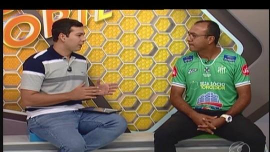 Técnico do Uberlândia Esporte avalia adversário antes da estreia na Série D