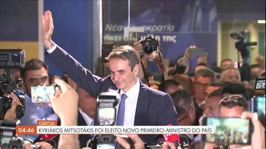 Oposição vence as eleições para o Parlamento na Grècia