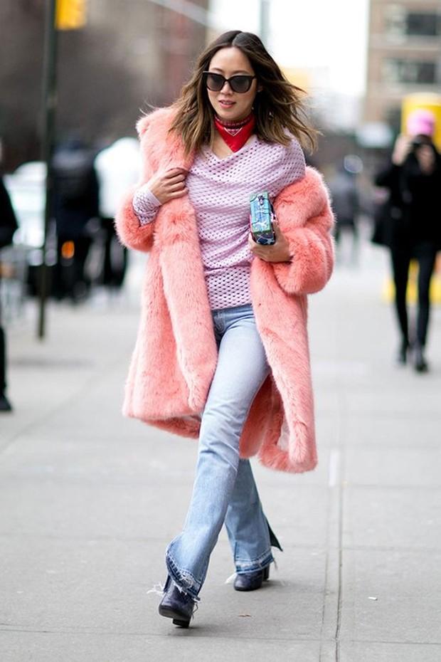 casaco rosa (Foto: Reprodução / Pinterest)