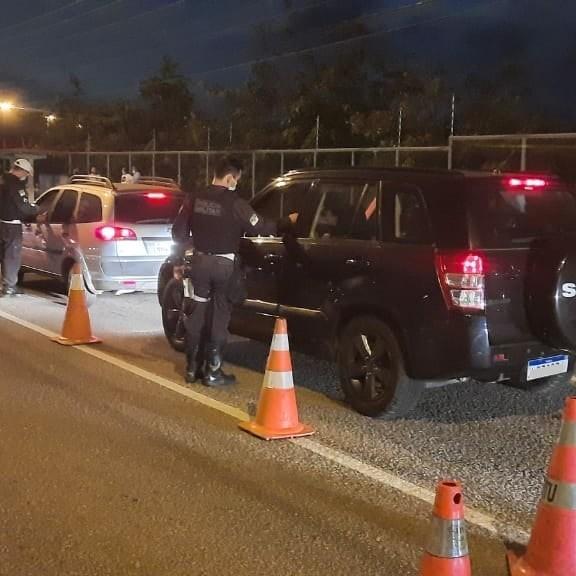 Blitz da Lei Seca autua 38 motoristas por embriaguez ao volante na Zona Sul de Natal