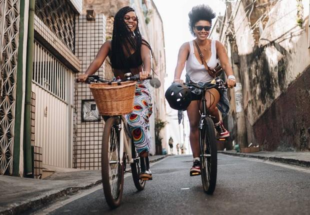 Criado em 2015, e projeto começou como um Bike-Café-Poético e hoje em um movimento que une emancipação feminina e mobilidade urbana (Foto: Helen Salomão/Divulgação)
