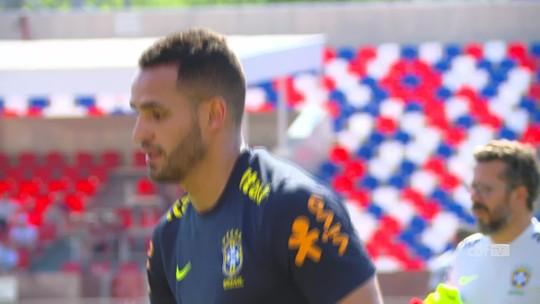 Tite deve manter titulares da Seleção para o jogo contra a Sérvia