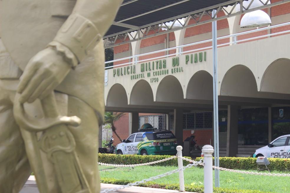 Secretário de fazenda anuncia aumento de vagas em concurso da PM do Piauí — Foto: Andrê Nascimento/ G1 PI