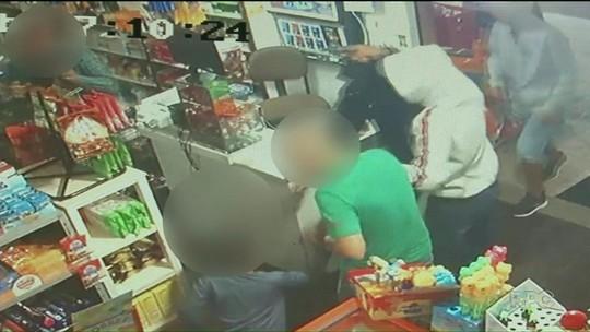 Suspeitos de assalto a mercado em Paranavaí que foram chutados por criança são presos