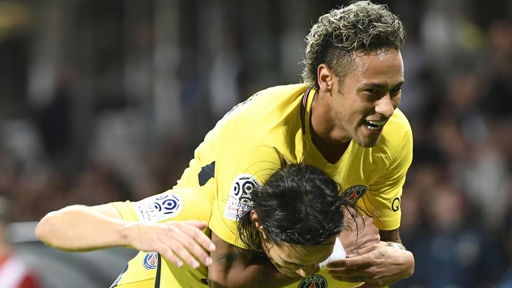 Neymar estreia PSG gol