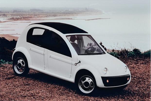 No fim dos anos 1990 a Chrysler desenvolveu um carro todo de plástico que poderia ter sido produzido no Brasil: o Chrysler CCV (Foto: Divulgação)