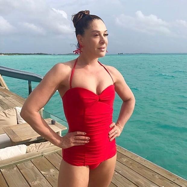 Claudia Raia revela segredo da boa forma (Foto: Reprodução Instagram)